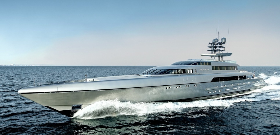 The Silver Series motor yacht 'SILVER FAST'